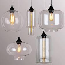 image of kinds glass pendant lights