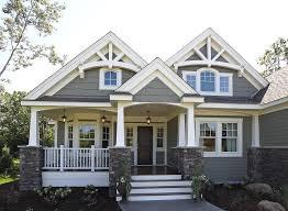 image of large northwest craftsman style house plans
