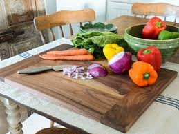 Chopping Table Kitchen How To Make A Wood Cutting Board For Your Kitchen Hgtv