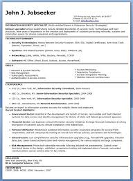Information Security Resume Examples Examples Of Resumes