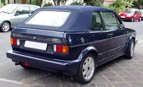 File:VW Golf I Cabriolet rear 20080621.jpg - Wikimedia Commons