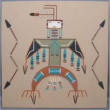 sand painting navajo re re