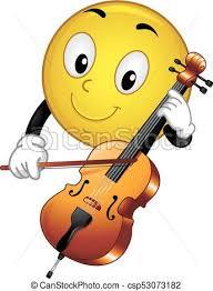 smiley violoncelle
