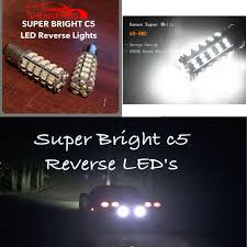 C5 Corvette Led Reverse Lights Details About Fits 1997 2004 C5 Corvette Super Bright Reverse Back Up Led Lights