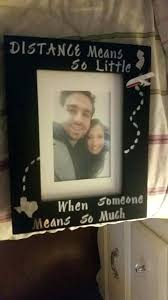 long distance relationship gifts for him diy frame gift ideas boyfriend