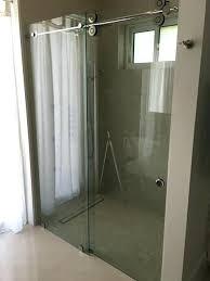 shower doors enclosure mirror walls window glass repair image 1 door treatment best