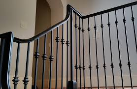 amazing wrought iron railing intended for stair artistic stairs idea 1