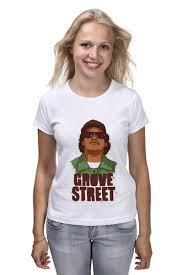 Футболка <b>классическая</b> GROVE STREET 4 <b>LIFE</b> #1001430 ...