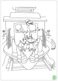 This children's coloring page of a train conductor will help your child develop their imagination while improving their pencil grip. Dinosaur Train Coloring Page Dinokids Org