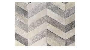 chevron cowhide rug grey and white herringbone cowhide rug grey and white