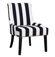 coaster black and white armless accent chair  goedekerscom