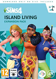 <b>The</b> Sims <b>4</b> Island Living Expansion Pack (PC <b>Digital</b> Download ...