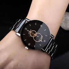 mens watch black reviews online shopping mens watch black kevin new design women watches fashion black round dial stainless steel band quartz wrist watch mens gifts relogios feminino