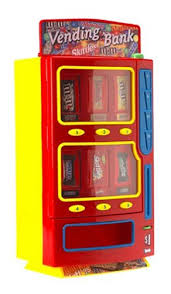 Vending Machine Bank Magnificent Creative Design Inc MM'sBrand Vending Bank Amazoncouk Toys