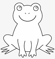 Funny frogs coloring page for kids. Seahorse Coloring Pages For Kids Frog Outline No Background Free Transparent Png Download Pngkey