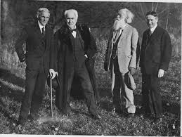 henry ford with thomas edison. Contemporary Ford Henry Ford Thomas Edison John Burroughs And Harvey Firestone By Unknown  Artist And Ford With Edison R