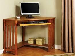 small corner office desk. Full Size Of Office Amusing Small Corner Desk 14 Stylish Brown Finish Mahogany Coumputer Table Light