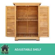 garage garden shed carport adjule shelf cupboard storage cabinet outdoor rack shoe shelf