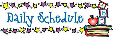 1st Grade - Mrs. Varriale / A10's Daily Schedule