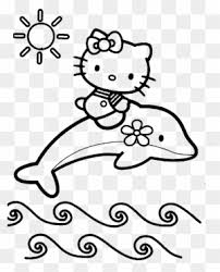 Hello kitty coloring page with few details for kids. Hello Kitty Clipart Transparent Png Clipart Images Free Download Clipartmax
