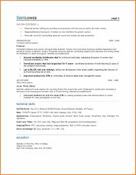 Marketing Resume Examples Sop Proposal
