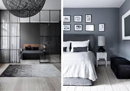 Grey bedroom design (Left: Linie Design/ Right: Found on Pinterest Home  Decor
