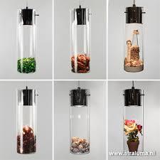 Verstelbare Hanglamp Glas Salontafel Straluma