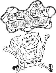 Coloring Pages Spongebob Squarepants Printable   Cartoon Coloring ...