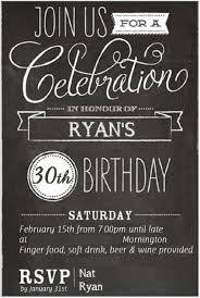 30th Surprise Birthday Party Invitation Template Template