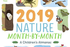 wonders at your fingertips book reviews national trust 2019 nature month by month a childrens almanac by anna