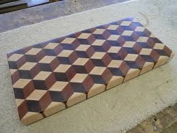 3d end grain cutting board plans. tumbling block end grain cutting board by bluemax lumberjocks, kitchen ideas 3d plans n