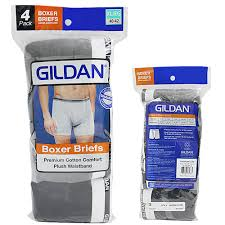Gildan Boxer Brief Size Chart Gildan Mens Assorted Color Boxer Brief Underwear 4 Pack