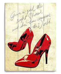 shoe wall art best images on canvas canvases and room loving this red shoes diy shoebox