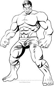 Immagini Da Colorare Per Bambini Hulk Powermall