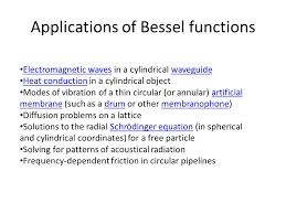 2 s of bessel functions electromagnetic waves in a cylindrical waveguide heat