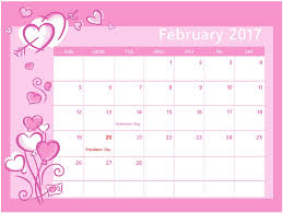 2017 calendars by month printable february 2017 calendar free calendar and images