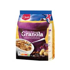 <b>Гранола Grain</b> изюм и миндаль 500 г | instagrammoon.ru