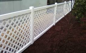 vinyl lattice fence panels. Vinyl Fencing And Entry Gates For Ranches Homes Garden Fences Lattice Fence Panels A