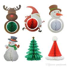Paper Flower Christmas Tree Christmas Decorations Loris Paper Flower Pull Pull Christmas Tree