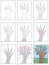 In this tutorial, i'll show you how to draw a typical. How To Draw An Easy Tree Art Projects For Kids