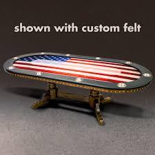 Poker Table Felt Designs The Dallas Poker Table Casino Supply