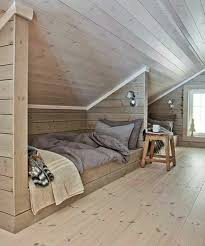 Kids room out of attic space