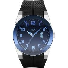 relic mens blue dial black strap watch zr11861 from jcpenney relic mens blue dial black strap watch zr11861