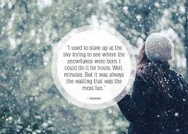 Snowflake Love Quotes Cool 48 Beautiful Quotes About Snow