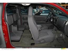 Very Dark Pewter Interior 2004 Chevrolet Colorado LS Extended Cab ...
