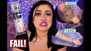 Bairly Sheer Color Chart Drugstore Tattoo Cover Up Bairly Sheer