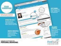 FirstDialog ResumeOnline interactive resume of professionals on  FirstDialog.com ...