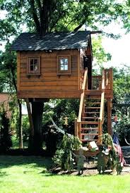free plans rousing kids forts backyard prefab tree house designs and freestanding treehouse pdf