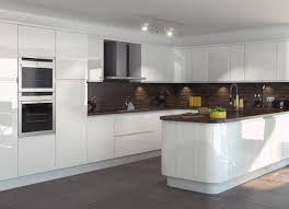 handleless kitchen white gloss