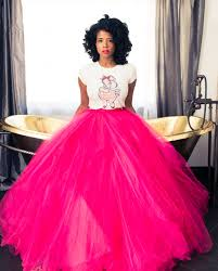 thinking of a tulle skirt